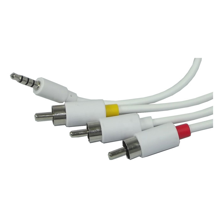 Av cable headphone jack