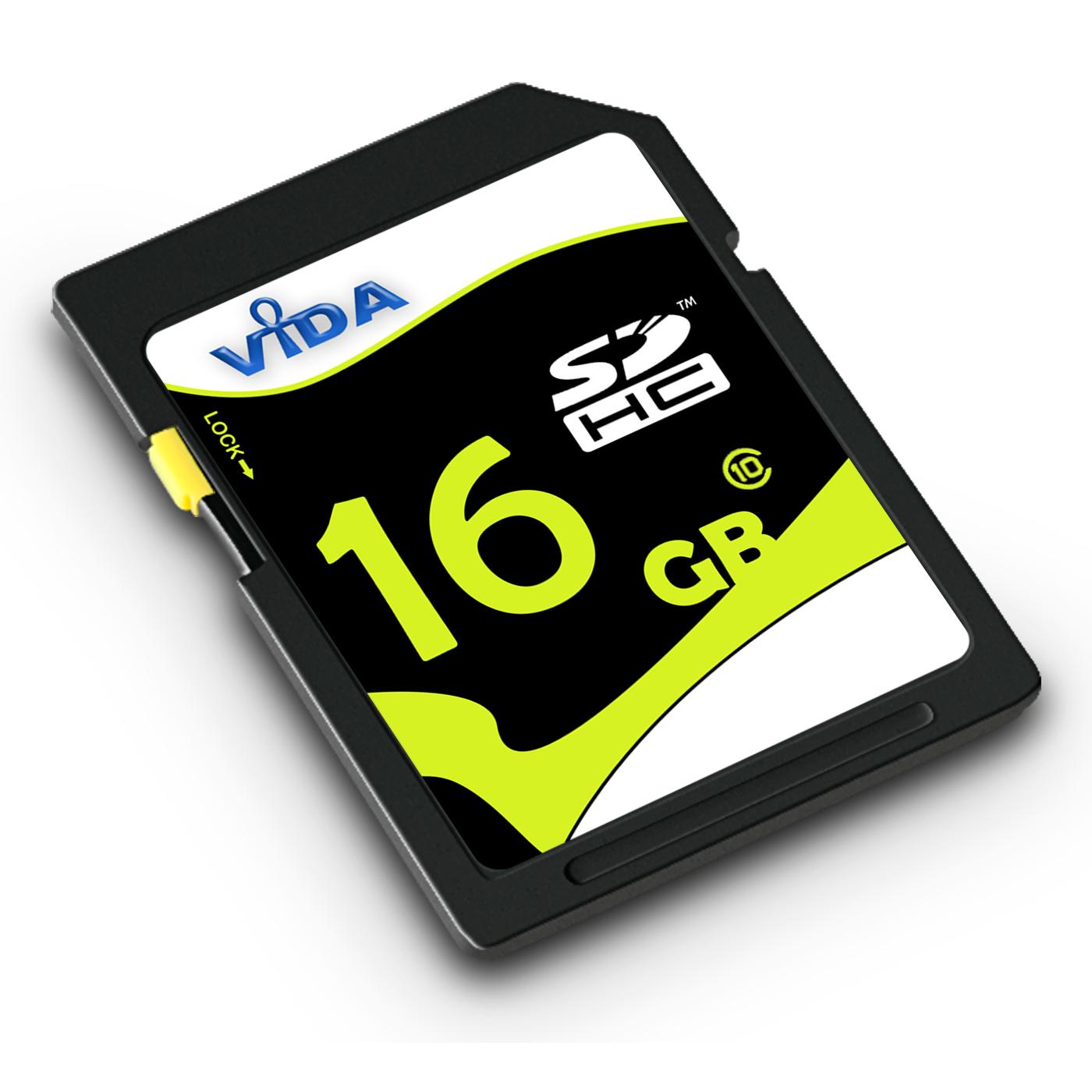 16GB Memory SD Card For  Sony Handycam DCR-SX15E