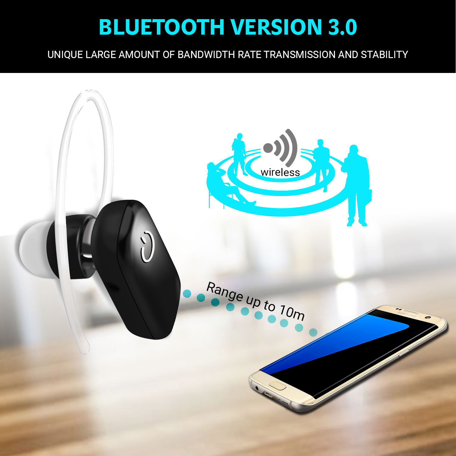 bluetooth kopfh rer headset f r huawei mate rs porsche. Black Bedroom Furniture Sets. Home Design Ideas