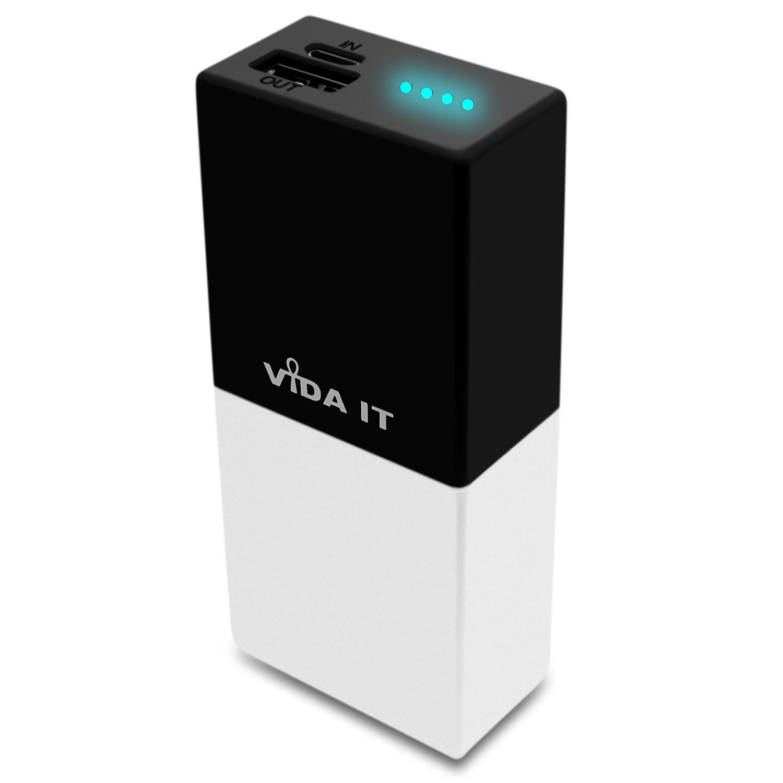 Vida-IT-F50-5000mAh-POWER-BANK-CARICA-BATTERIA-ESTERNA-PORTATILE-per-Cellulare