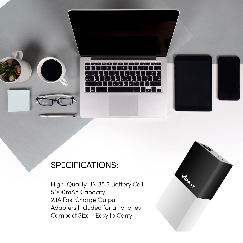 Travel Pocket Design 5000mah Power Bank Usb Portable Mobile Battery M Plus M5 Pack 5000 Mah Black Product Image Gallery