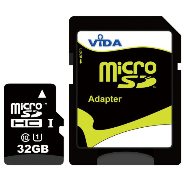 Vida IT 32GB micro SDHC memory card class 10 UHS-1