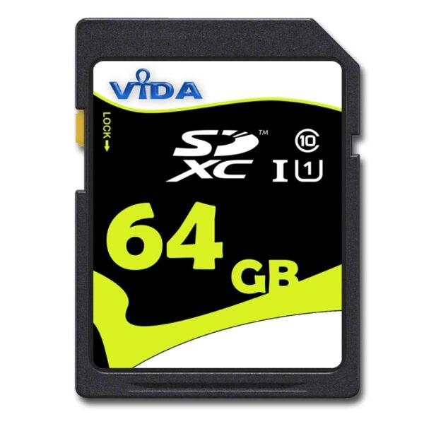 Vida 64GB SDXC memory card class 10 UHS-1