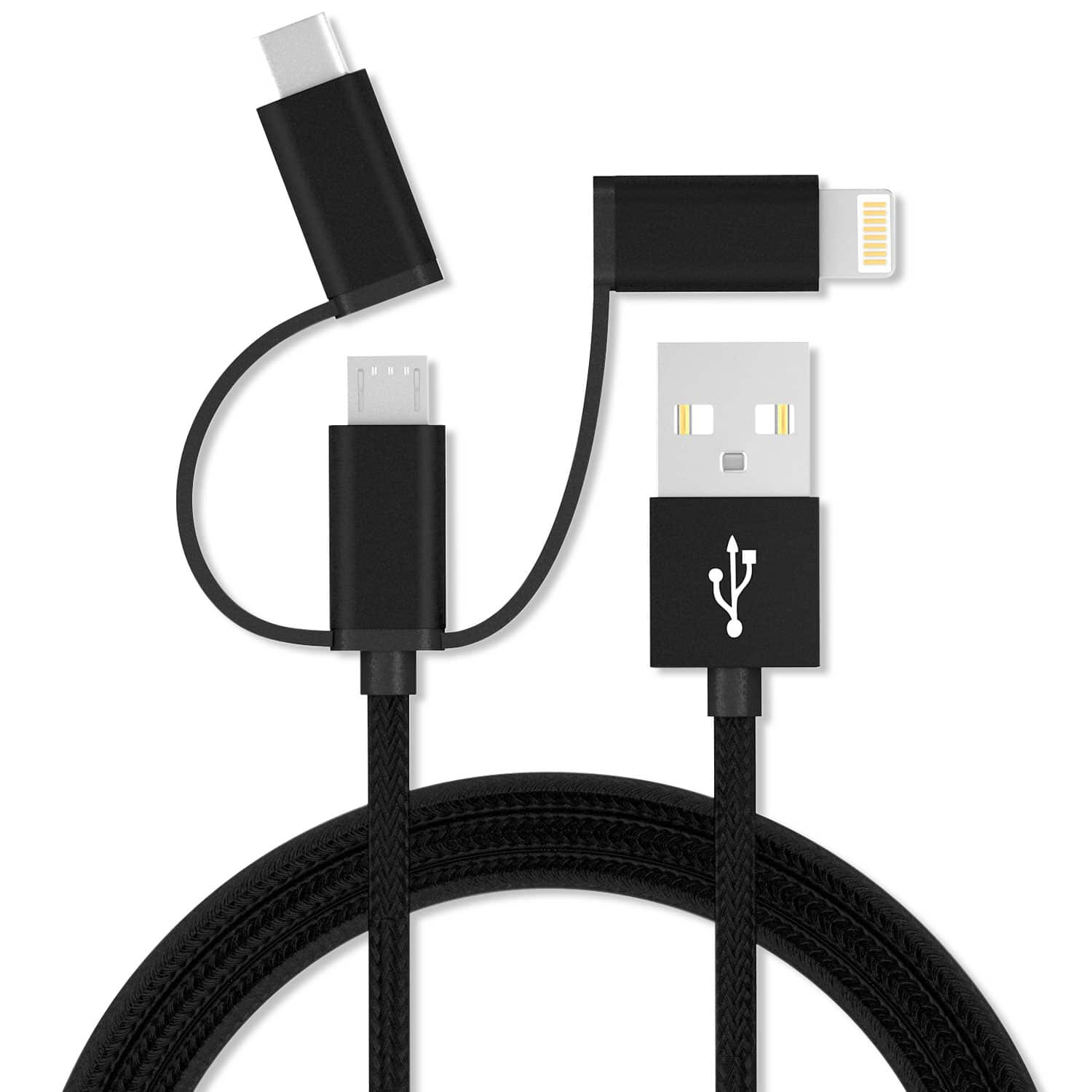 Vida IT V-C5 Braided 3-in-1 cable