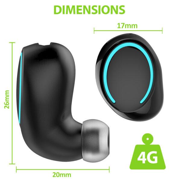 Vida IT BH99-I3 Wireless Stereo Bluetooth 4.1 Headset (Black)