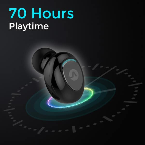 vbuds earbuds 70 hours playtime