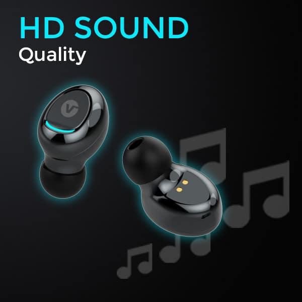 vBuds HD sound quality